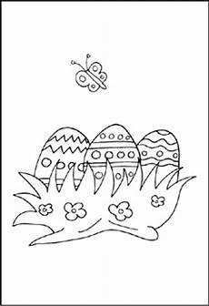 malvorlage osterei klein kinder zeichnen und ausmalen