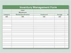 Inventory Control Excel Template Free Download Inventory Control Template Free Stock Spreadsheet Picture