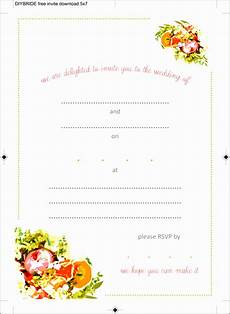 Free Invitation Cards Templates 10 Ms Word Birthday Party Invitation Template