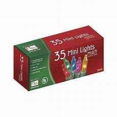 35 Count Christmas Lights Indoor Outdoor 35 Count Multi Color Christmas Light Set