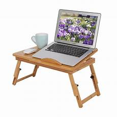 portable laptop desk table bed pad tray notebook