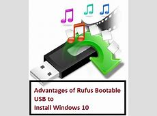 How to use Rufus to install Windows 10 Bootable USB (Rufus