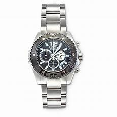 Steel By Design Watch Dakota Watch Company Stainless Steel Chronograph Watch