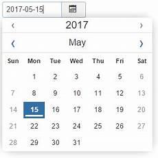 Calender Form Calendar Form Field Type Joomla Documentation
