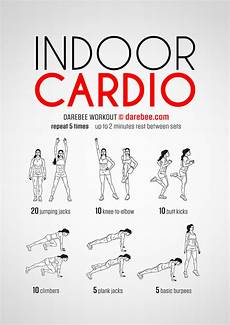 Cardiovascular Exercise Indoor Cardio Workout