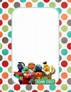 Print Invitations Online Free Printable Sesame Street Invitation Templates
