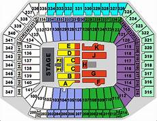 Ford Stadium Seating Chart Ford Field A Big Name Concert Venue In Detroit Rock City