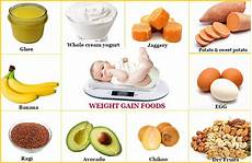 How To Gain Weight By Food Chart 31 Easy And Healthy Recipes For Weight Gain In Babies