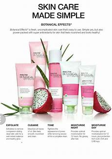 Mary Application Chart Botanical Effects Makes Skin Care Simple Exfoliate