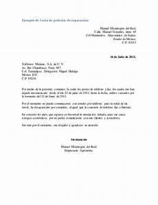 Ejemplos De Cartas De Peticion Carta Modelo De Solicitud De Bacheo De Calle Buscar Con