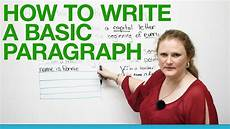 How To Write A Resu How To Write A Basic Paragraph Youtube