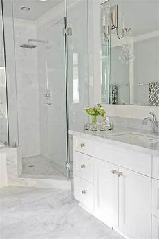 Light Grey Marble Bathroom Going For This Look Light Grey Floor Tiles White Vanity