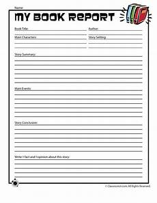 Book Report Book Report Forms