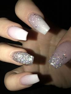 21st Birthday Nail Designs Pinterst Blessed187 Sparkly Acrylic Nails 21st
