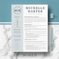 Modern Resume Templates Free Word Professional Amp Modern Resume Template For Word And Pages
