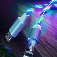 Bakeey Light by Bakeey Type C Micro Usb Magnetic Data Cable 2a Fast