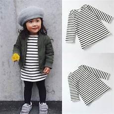 infant sleeve shirt toddler baby infant cotton sleeve striped