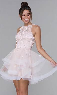 lace bodice tulle homecoming dress promgirl