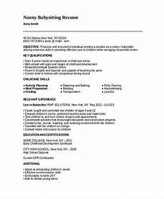 Nanny Description For Resume All Things You Should Know About Nanny Resume