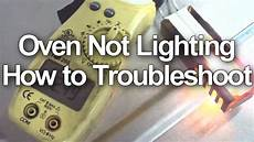 Lighting A Gas Stove Gas Stove Oven Not Working Or Heating How To