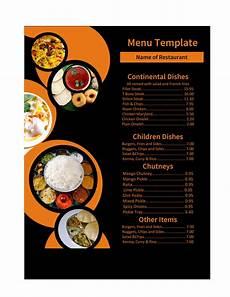 Menus Designs For Restaurants 30 Restaurant Menu Templates Amp Designs Template Lab