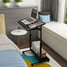 adjustable height angle laptop desks pc table sofa bed