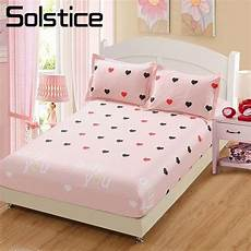 solstice pink cotton bed sheets bed fitted
