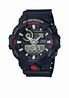 G Shock Light Button G Shock Men S Black Ana Digi With Red Front Light Button