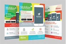 Best App To Make Flyers Colourful Mobile App Flyer Flyer Templates On Creative