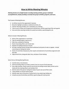 Minutes For A Meeting 17 Professional Meeting Minutes Templates Pdf Word