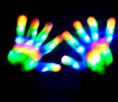 Rave Glove Light Show Rainbow Led Glove Full Led Glove Rave Light Show Ebay