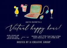 Happy Hour Invite Wording Happy Hour Party Invitation Template Free Greetings