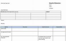 Board Meeting Templates Free 13 Meeting Minutes Templates To Help You Ace Your