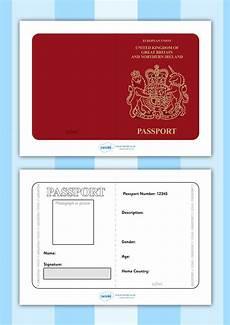 Passport Template Download Twinkl Resources Gt Gt British Passport Template Gt Gt Printable