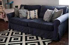 Navy Blue Sofa Slipcover 3d Image by 15 Best Ideas Of Navy Blue Slipcovers