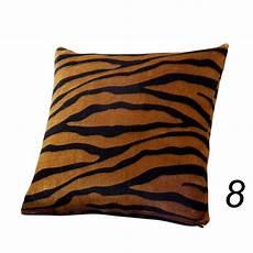 animal zebra leopard print pillow waist throw cushion