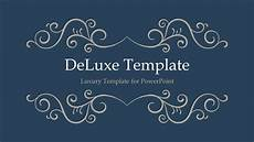 Power Point Slide Themes Deluxe Luxury Powerpoint Template