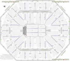 Talking Stick Stadium Seating Chart Detailed Seat Row Numbers End Stage Concert Sections Floor
