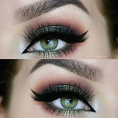 pretty eye makeup looks for green phyle style