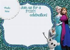 Frozen Birthday Invitations Printable Free Printable Frozen Movie Birthday Invitations Party