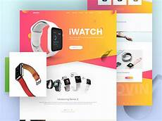 About Us Page Design Pinterest Iwatch Landing Page Design Concept By Rono Dribbble
