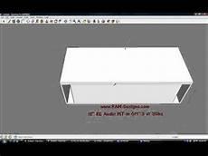 Ram Designs Ram Designs Re Audio Mt 18 Quot Ported Sub Box Design Youtube