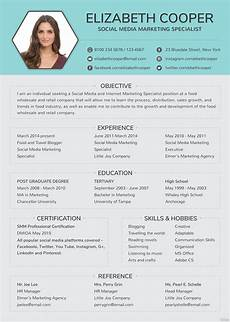 Editable Resume Template Free Social Media Specialist Resume Template In Adobe