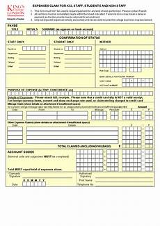 Expense Claim Form Template Excel Expense Claim Form Excel Templates At