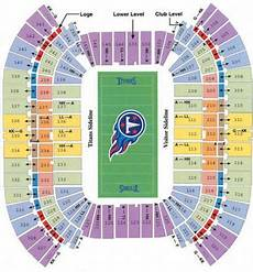 Titans Interactive Seating Chart Lp Field Stadium Seating Chart Titans Music City