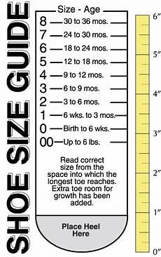 Measure Toddler Shoe Size Chart Measure Your Shoe Size