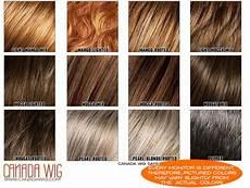 Wigs Color Chart Ellen Wille Wig Color Chart