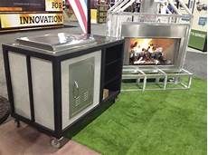aluminum grilling cabinet fireside outdoor kitchens