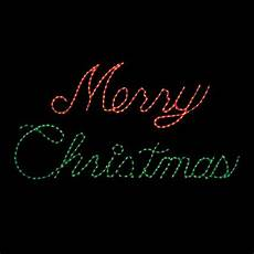 Rope Light Christmas Signs Merry Christmas Rope Light Sign Google Search Merry