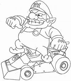 mario kart coloring pages best coloring pages for